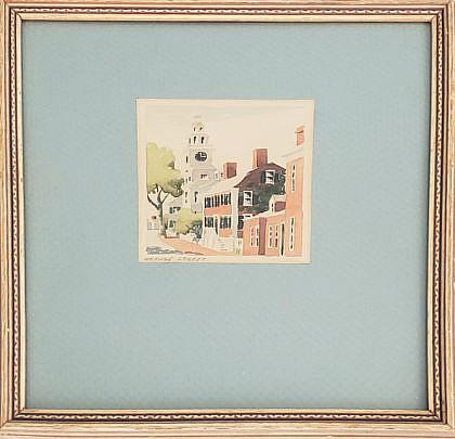 2426-955 Doris Richard Beer Watercolor A