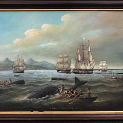 6-4757 Brian Coal Oil Whaling Scene A IMG_7382