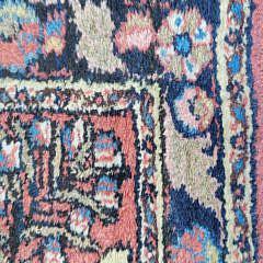 Vintage Sarouk Oriental Carpet Mat