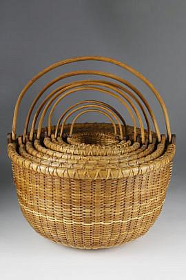 74-1260 8 nested baskets A_MG_0736