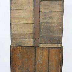 English Georgian Oak Chest on Chest, circa 1800-1820