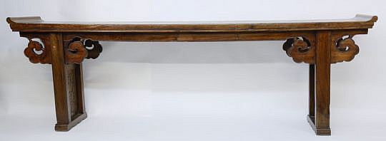 101 Chinese Carved Exotic Hardwood Altar Table A_MG_2747