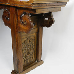 Chinese Carved Exotic Hardwood Altar Table