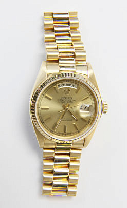 113-4962 Rolex Oyster Perpetual Day-Date Watch 18K A_MG_3154