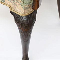 Irish George II Mahogany Open Armchair, circa 1730