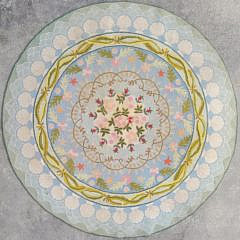 Claire Murray Floral Round Hooked Rug