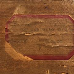 """Isabelle Hollister Tuttle Oil on Board """"Overcast"""""""