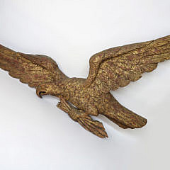 46-4218 Large American Eagle wall Plaque A_2802