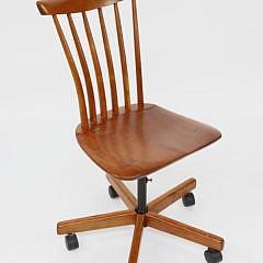 Stephen Swift Cherry Windsor Style Desk Chair