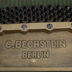 C. Bechstein – Berlin Black Lacquer Grand Piano