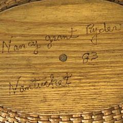 Nancy Grant Ryder Nantucket Friendship Basket