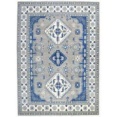110-4700 Blue Creme Kazak A 001