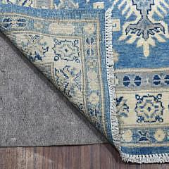 Caucasian Tribal Design Vintage Style Kazak Runner Carpet