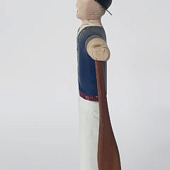 Albert Ottison Hand Carved and Painted Nantucket Sailor Whirligig