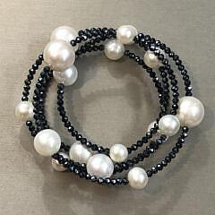 40781 Pearl Spinel Bracelet A IMG_8308